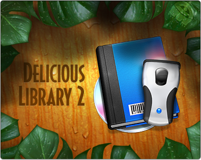 graphics I've done for Delicious Library 2 which came out today