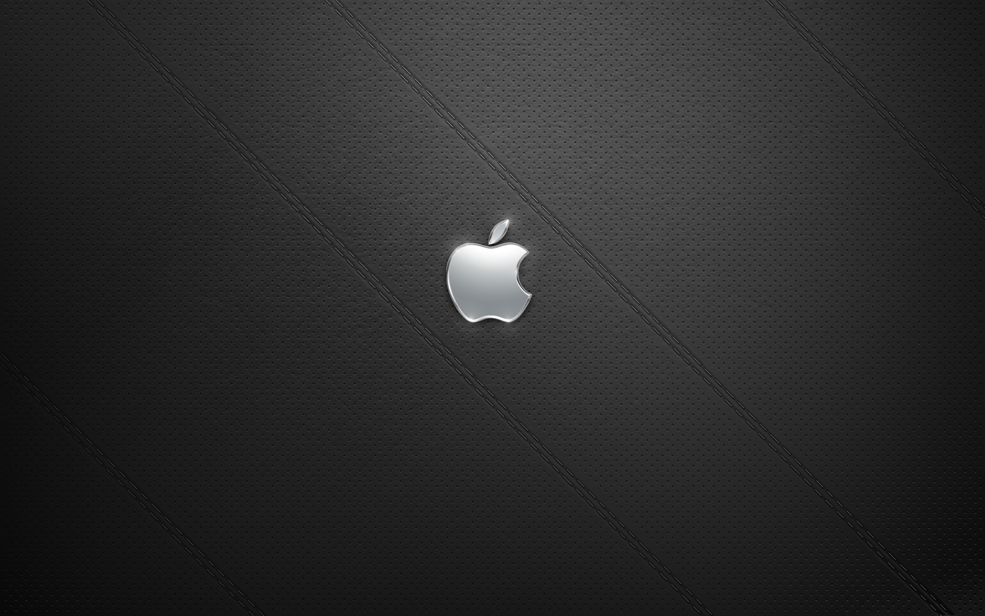 Black leather apple desktop background