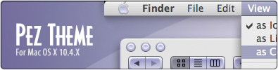 Pez Theme for Mac OS X
