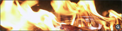 Lobster On Fire - Click to see full-size image