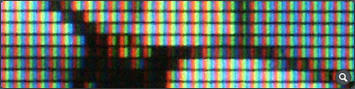 Pixels on LCD Monitor