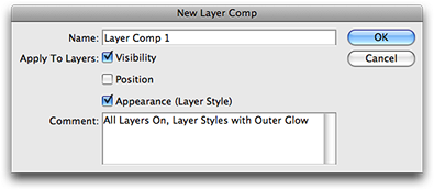 New Layer Comp